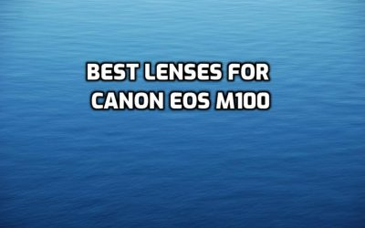 These are 5 Best Lenses for Canon EOS M100 [In 2021]