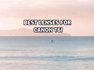 Best Lenses for Canon T6i guide