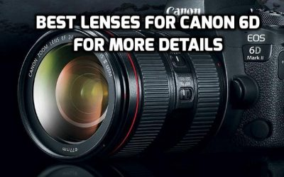 Best Lenses for Canon 6D – 6 Must-Have Lenses
