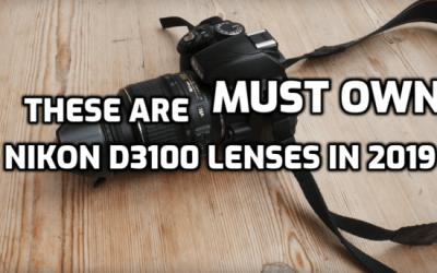 These are 5 Must Have Lenses for Nikon D3100 in 2019