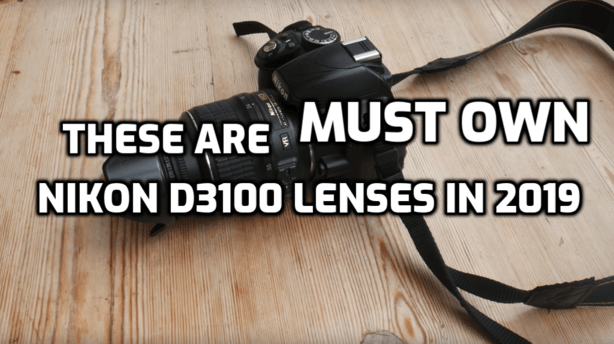 These are 5 Must-Have Lenses for Nikon D3100 in 2019