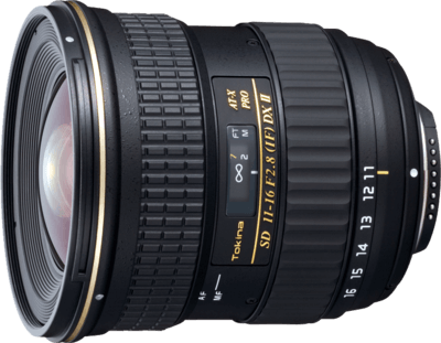 Tokina 11-16mm f2.8 DX lens