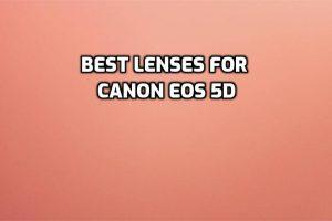 best lenses for Canon EOS 5D