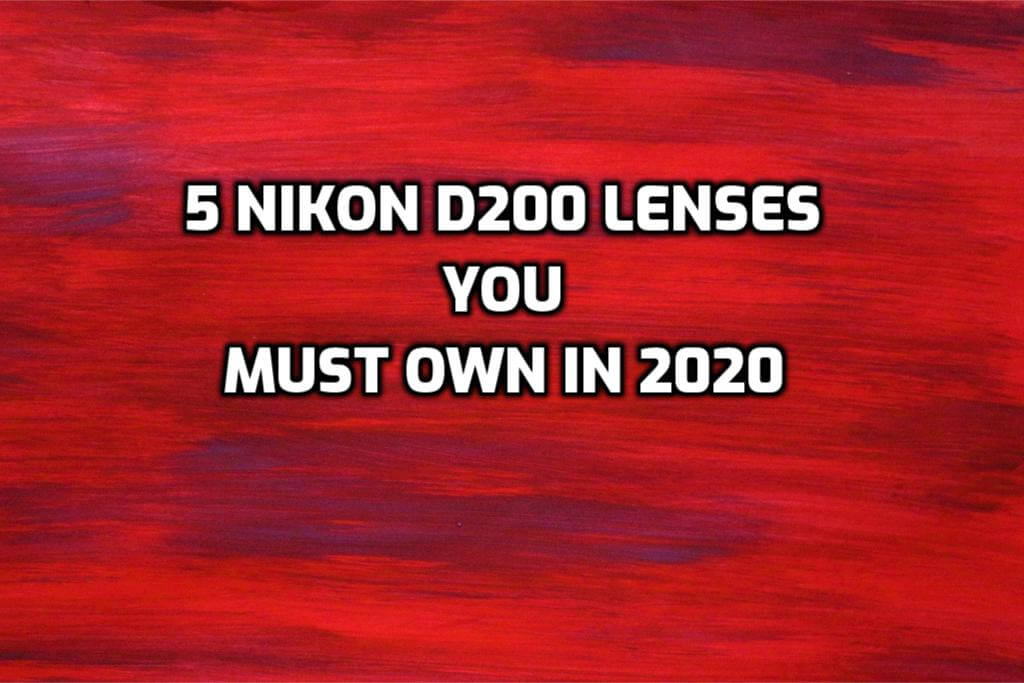 Nikon D200 Lenses: 5 Best Lenses You Must Own in 2020 (Ultimate guide)