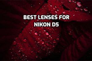 best lenses for Nikon D5