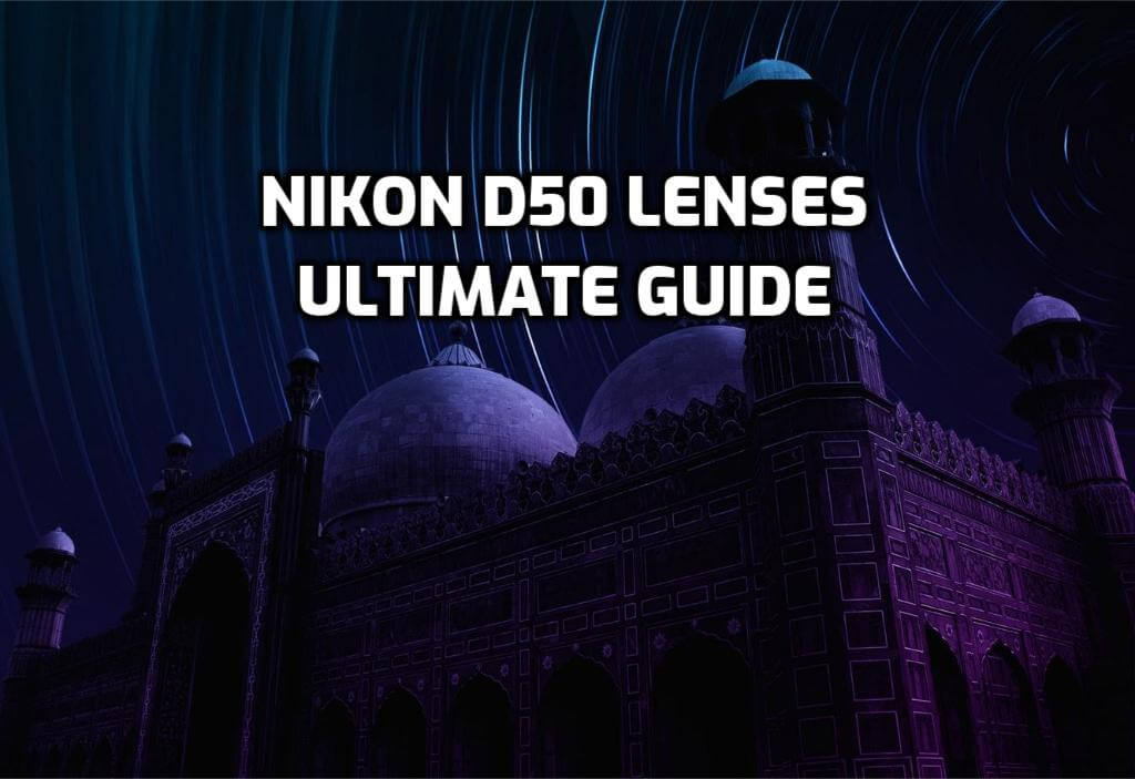 5 Best Lenses for Nikon D50 in 2020 (Ultimate Guide)