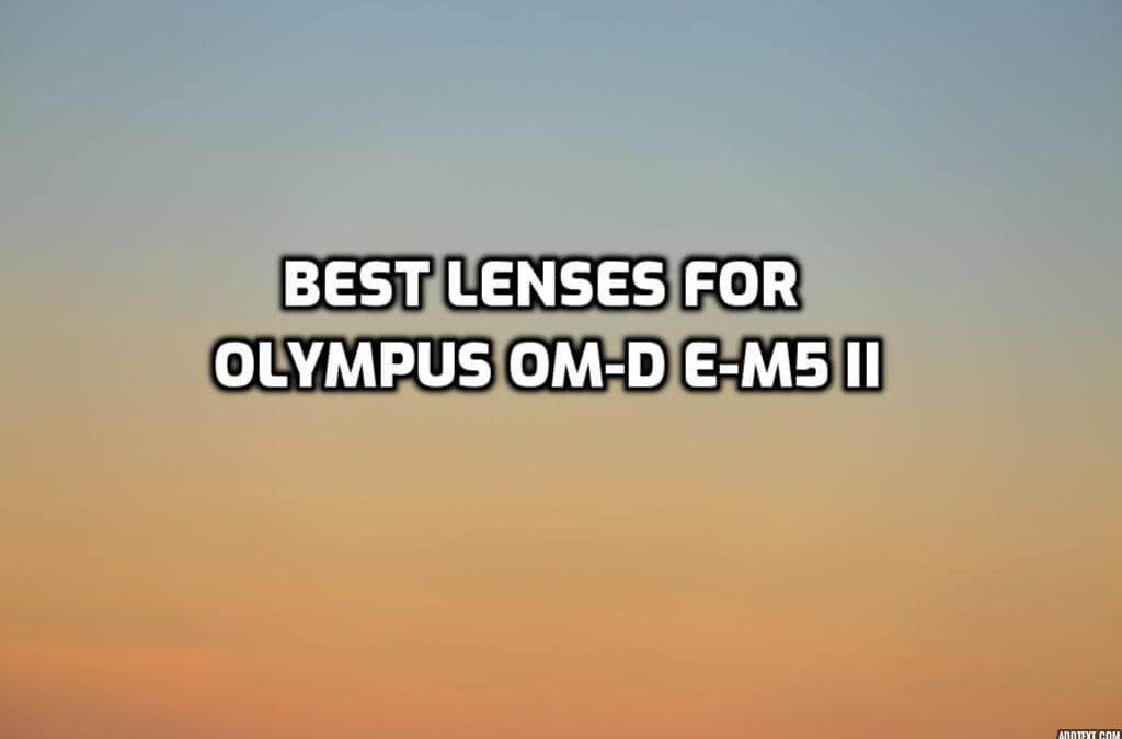 best lenses for Olympus OM-D E-M5 II