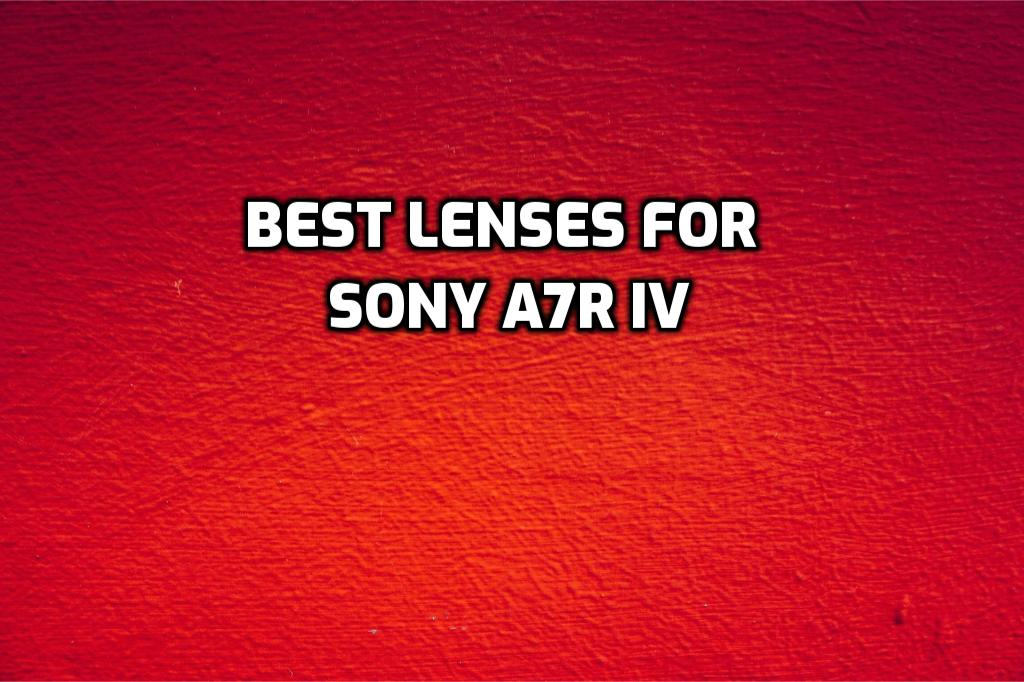 These are 5 MUST-HAVE lenses for Sony a7R IV [In 2021]